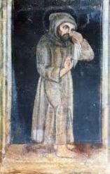Francis weeping