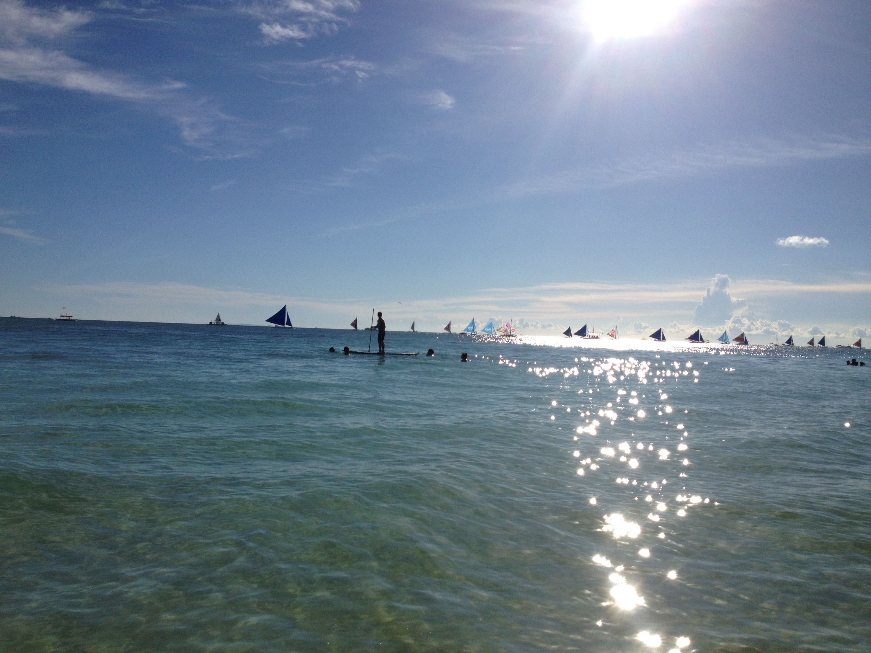 first day in boracay  may  2015